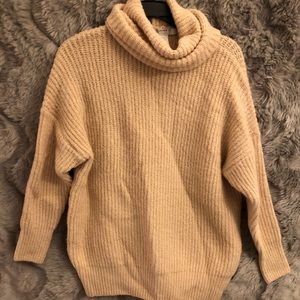 Forever21 cowl sweater